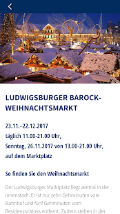 Ludwigsburg Weihnachts-App- screenshot thumbnail