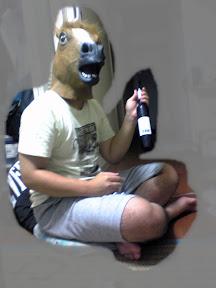 Eiswein を呑む馬