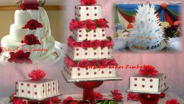 Best Wedding Cakes In Zimbabwe Images