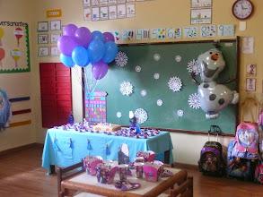 Photo: Festa do Olaf na escola