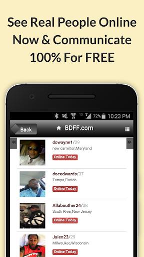 BDFF u2665 100% Free Black Dating 9.1 screenshots 5