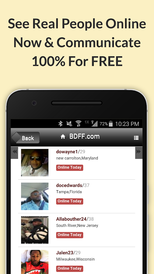 Black Friends Date - Real Free Black Dating Site