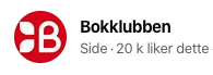 Bokklubben antall likes på Facebook