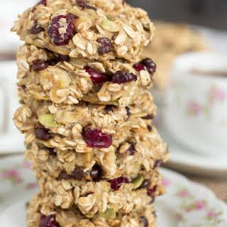 Roasted Banana Breakfast Cookies - Vegan + Gluten-free.
