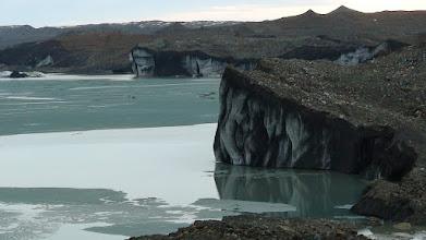 Photo: Malaspina Glacier and Malaspina Lake