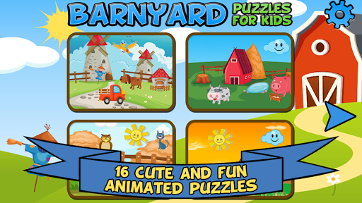 Barnyard Puzzles For Kids apkpoly screenshots 1