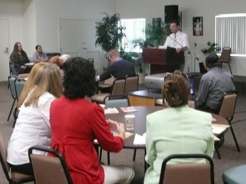 missionário José Bernardo palestra sobre evangelização profética na Flórida - USA
