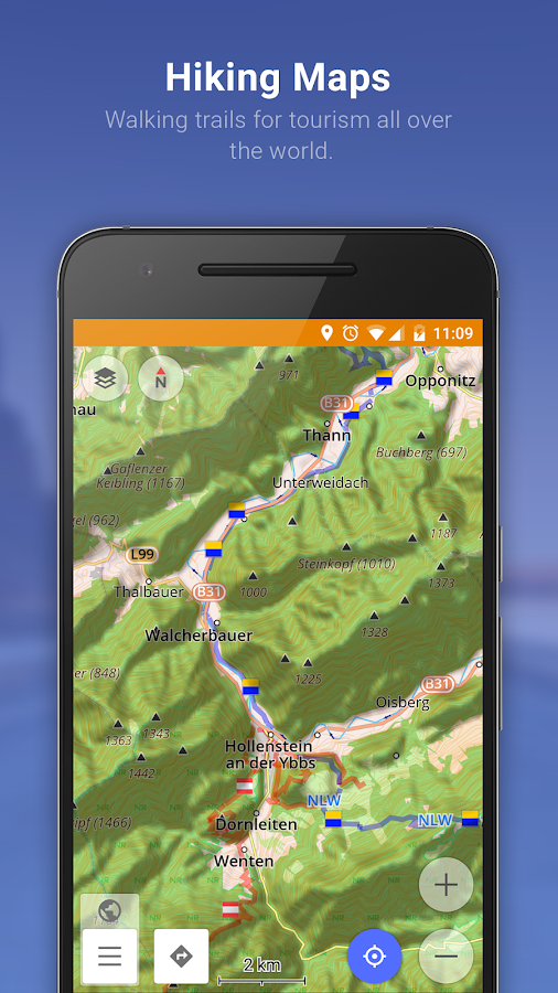 Maps & Navigation — OsmAnd+- screenshot