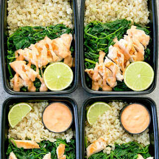 Bang Bang Chicken with Cauliflower Rice Meal Prep Recipe