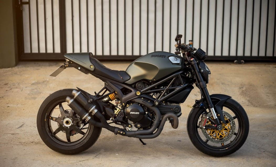 ducati monster 1100 evo diesel limited edition decorated. Black Bedroom Furniture Sets. Home Design Ideas