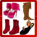Heels footwear boots fashion icon