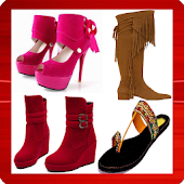 Heels footwear boots fashion