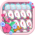 Floral Keyboard Theme