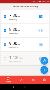 Alarmy (Sleep If U Can) - Alarm clock Screenshot
