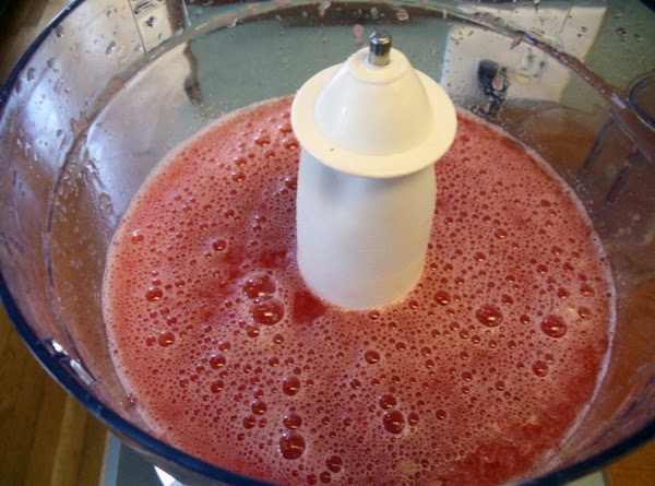 Place watermelon in a blender; process until smooth.