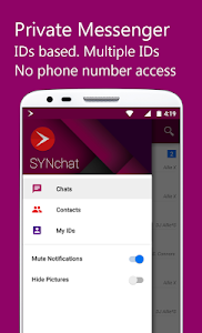 SYNchat Messenger screenshot 0