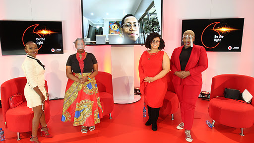 Vodacom hosted an online discussion on efforts to fight domestic violence.