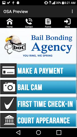 android Doc Bail Bonding Screenshot 2
