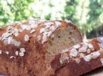 Oatmeal Banana Nut Bread