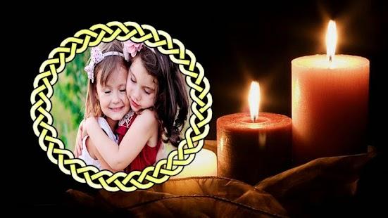 Candle Photo Frame - náhled