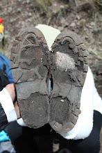 Photo: Zapatos de la Sra. Eli Huchuyqosqo Actividad 2012