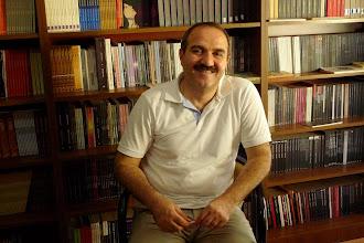Photo: Mehmet Rauf Çiçek, director of Nûbihar Publishing Hause, Diyarbakir, North Kurdistan (Turkey), 2012