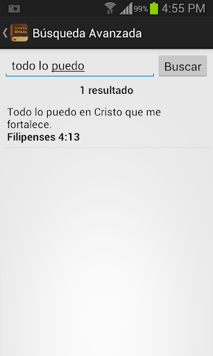 Santa Biblia Reina Valera screenshot 5