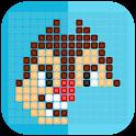 Mirror Mosaic : Symmetry Puzzles icon