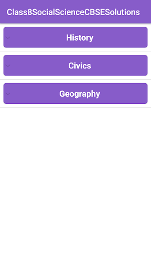 8th Social Science CBSE Solutions - Class 8 1.0 screenshots 1