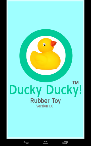FREE_Ducky Ducky -Rubber Toy