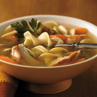 Sensational Chicken Noodle Soup.