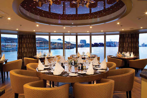 Guests have the option of a specialty meal at Chef's Table on an AmaSerena sailing.