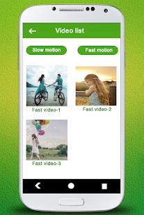 Slow & Fast Motion Video Maker - náhled