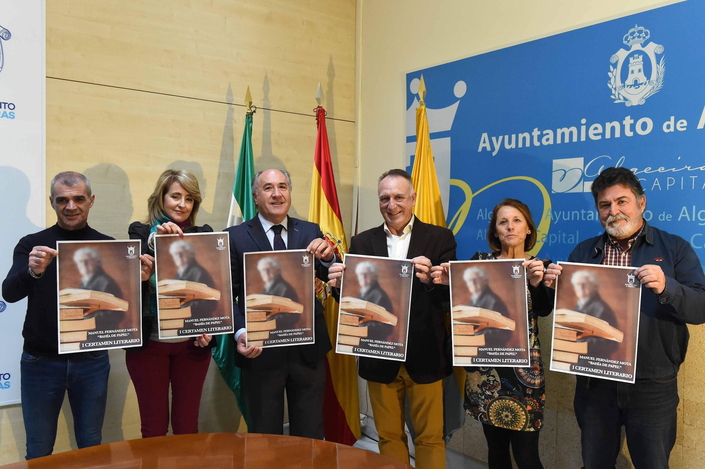 "Presentado el I Certamen de Literatura ""Manuel Fernández Mota: Bahía de Papel"""