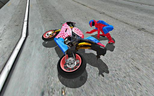 Bike Super Hero Stunt Driver Racing 1.0 screenshots 2