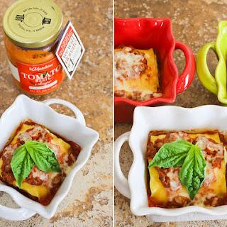 Tomato Basil Lasagna Rolls