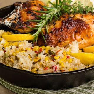 Homestyle Lemon Chicken and Rice