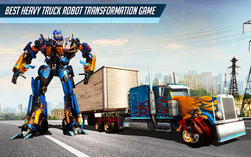 Heavy Truck Robot Giant Truck Driver Simulator 9 screenshots 6