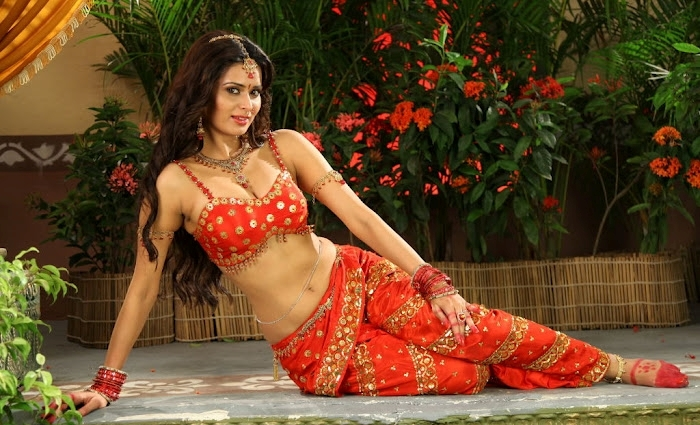 Meenakshi Dixit hot photos in red saree, Meenakshi Dixit sexy feet,