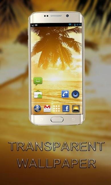 #13. Transparent Screen Wallpaper (Android)