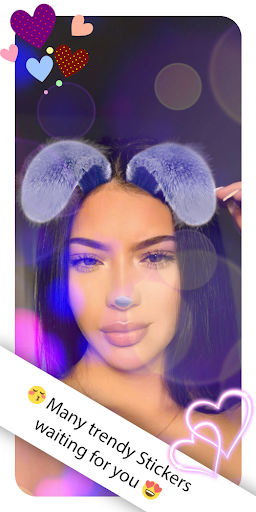 Selfie Photo Editor - Candy Camera 0.2 screenshots 8