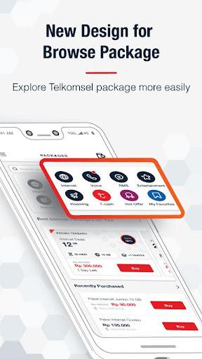 MyTelkomsel u2013 Check Quota & Best Internet Packages 4.1.0 app 2
