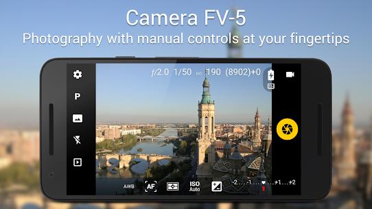 Camera FV-5 Lite Mod 5.1.3 Apk [Unlocked] 1