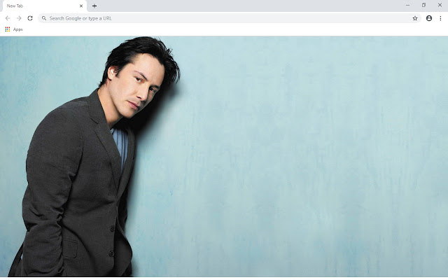 Keanu Reeves New Tab & Wallpapers Collection