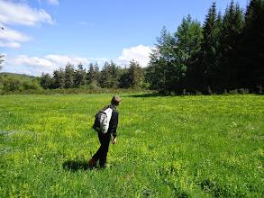 Photo: Justin à la recherche d'un sujet à photographier ?
