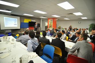Photo: September meeting at Nortec's facility