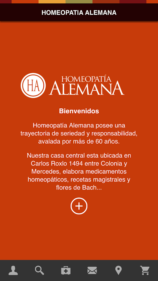 Homeopatía Alemana- screenshot
