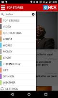 Screenshot of eNCA News