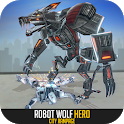 Robot Wolf Hero: City Rampage icon