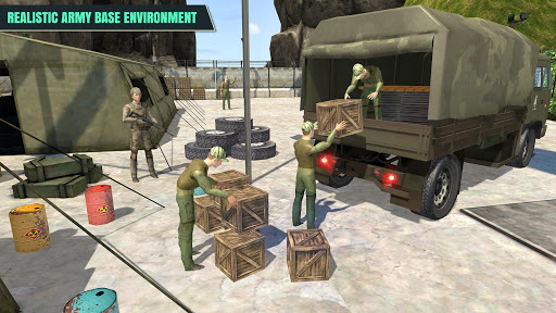 Armée Conducteur de camion APK MOD screenshots 2